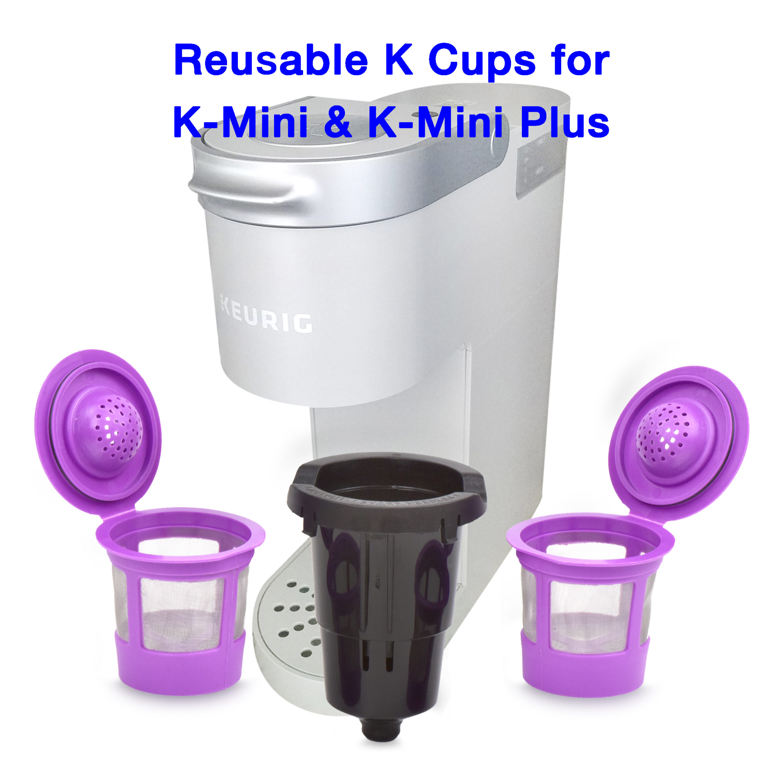 K Mini and Plus Reusable K Cup with Adapter