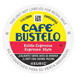 cafe bustelo k cup