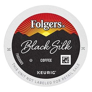 folgers black silk k cup
