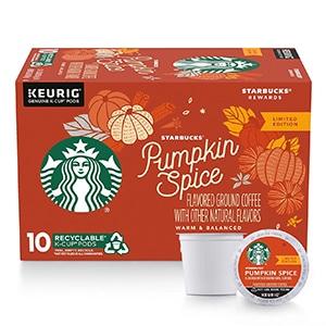 pumpkin spice latte k cup review