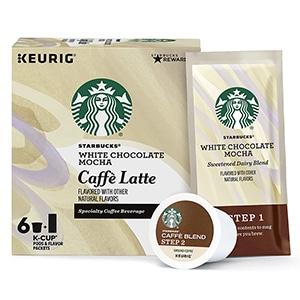 white chocolate mocha k cup