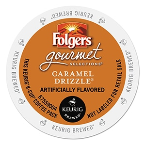 Folgers Caramel Drizzle K-Cup