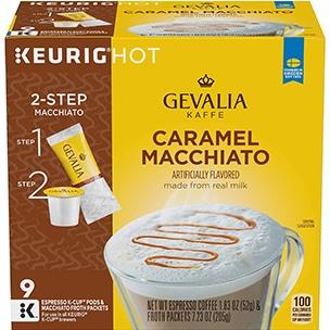 Gevalia Caramel Macchiato K-Cup