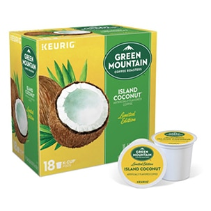 Keurig Green Mountain Island Coconut K-Cup