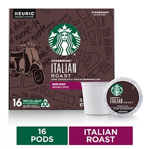 Starbucks Italian Roast K-Cup
